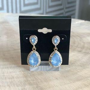 Jewelry - Ice Blue Crystal Earrings